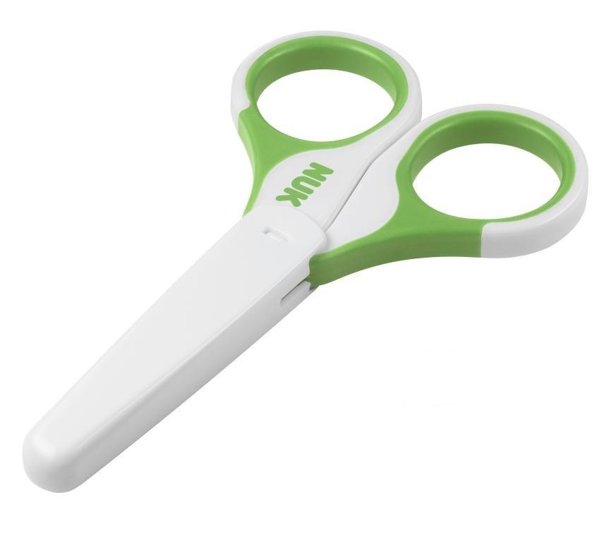 NUK Dětské zdravotní nůžky s krytem