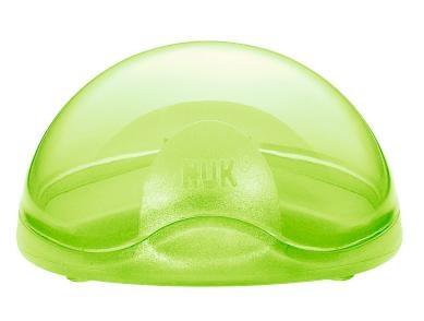 NUK Ochranný box na dudlík, zelená