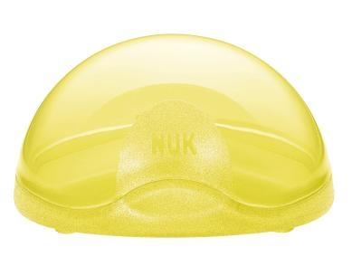 NUK Ochranný box na dudlík, žlutá