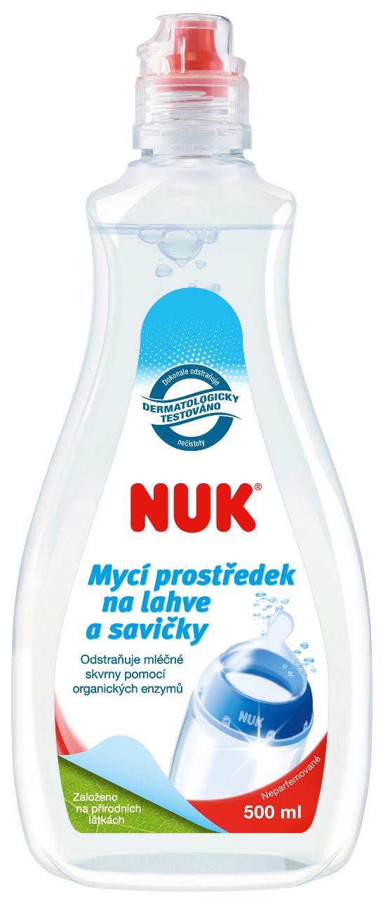 NUK Mycí prostředek na láhve a savičky 500ml